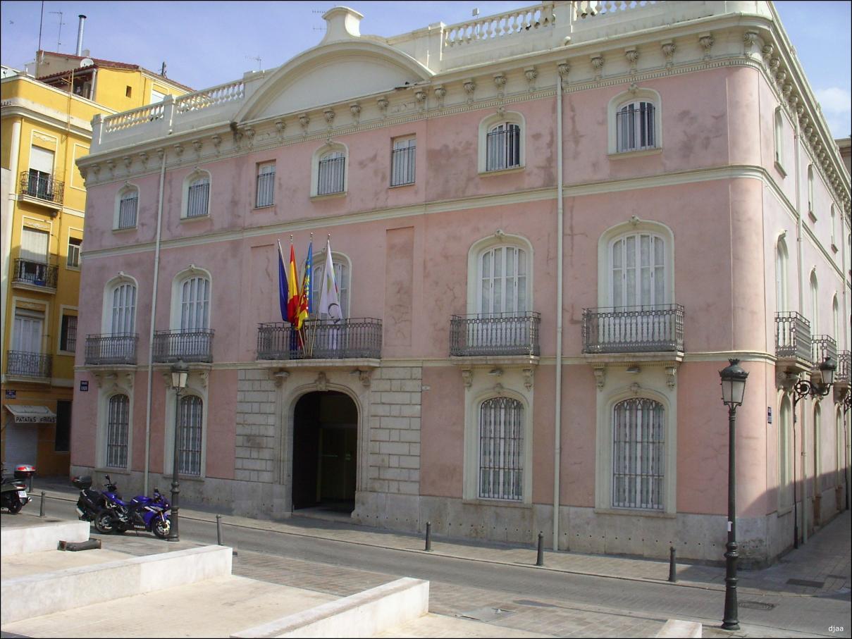 Palacio Colomina, Universidad CEU Cardenal Herrera, Valencia.